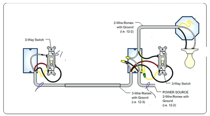 Help With Wiring A Ge Switch And Add-on Switch