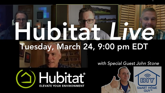 hubitat live march24