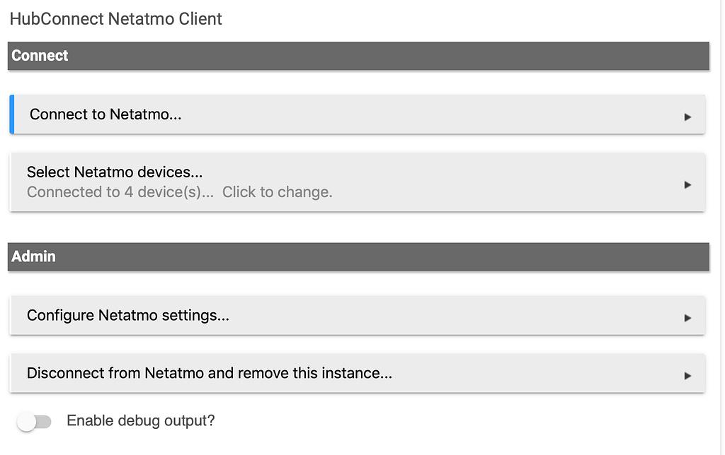 [RELEASE] HubConnect Netatmo Weather Station Client (HubConnect not req'd)