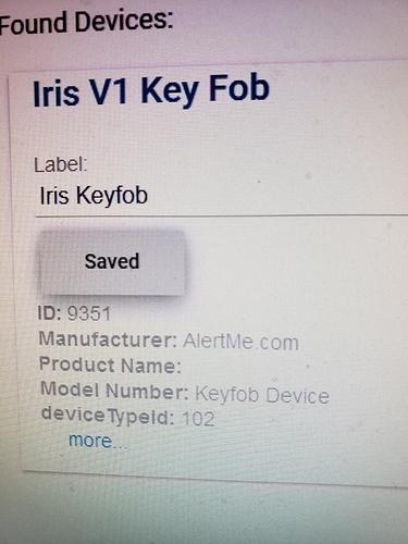 keyfob pairing