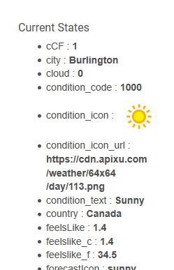 Apixu com worldwide weather data with outside lux  No PWS or