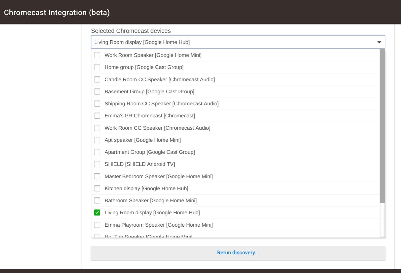 Chromecast? - Integrations - Hubitat