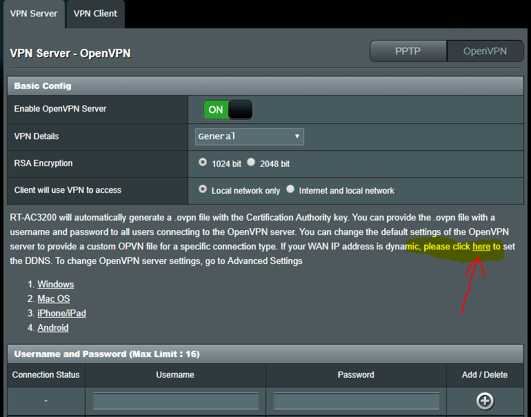 HELP! I tried VPN enabled on my AC3200 but I broke