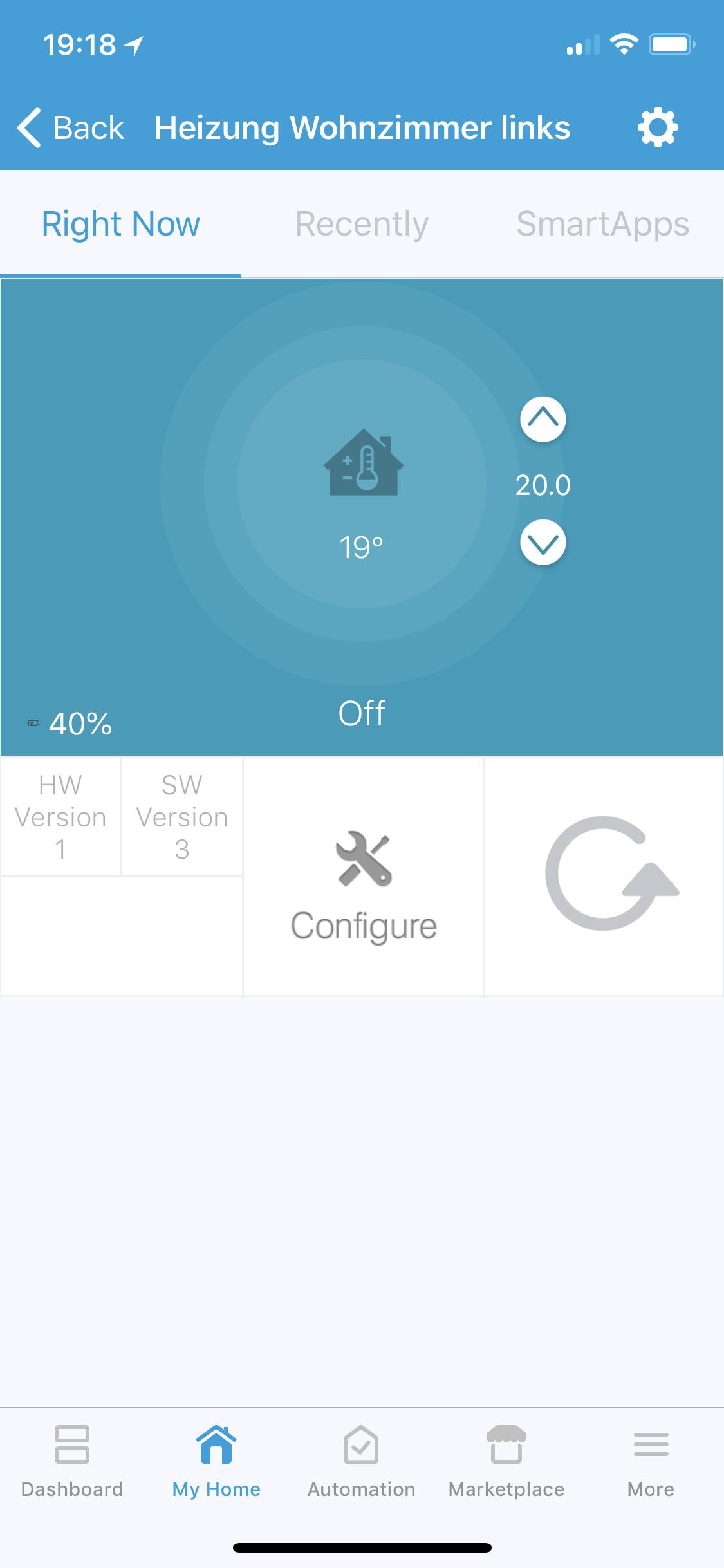 Dashboard feature request - thermostat template - Feedback - Hubitat