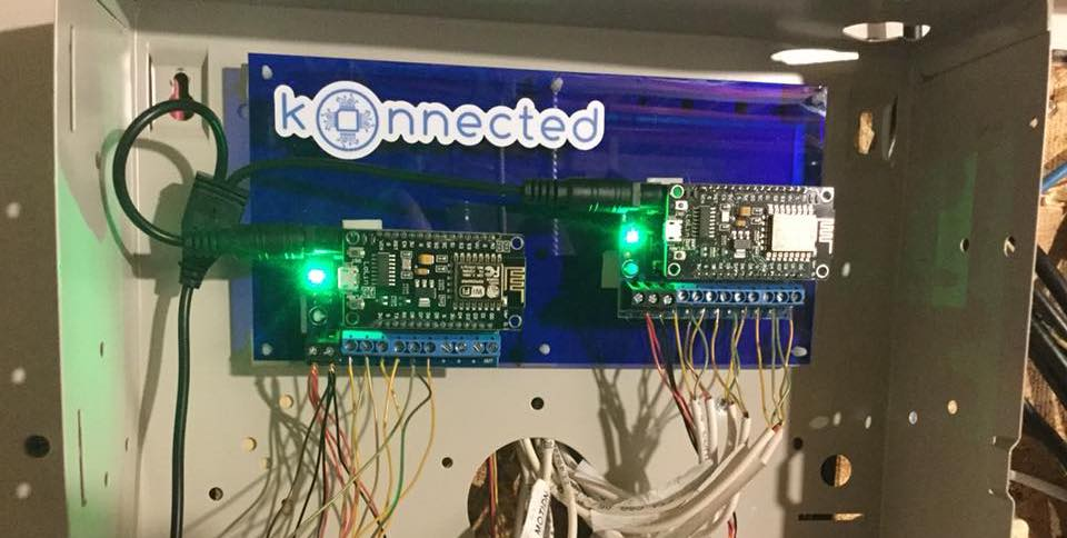 Konnected Alarm Panel wired alarm system integration