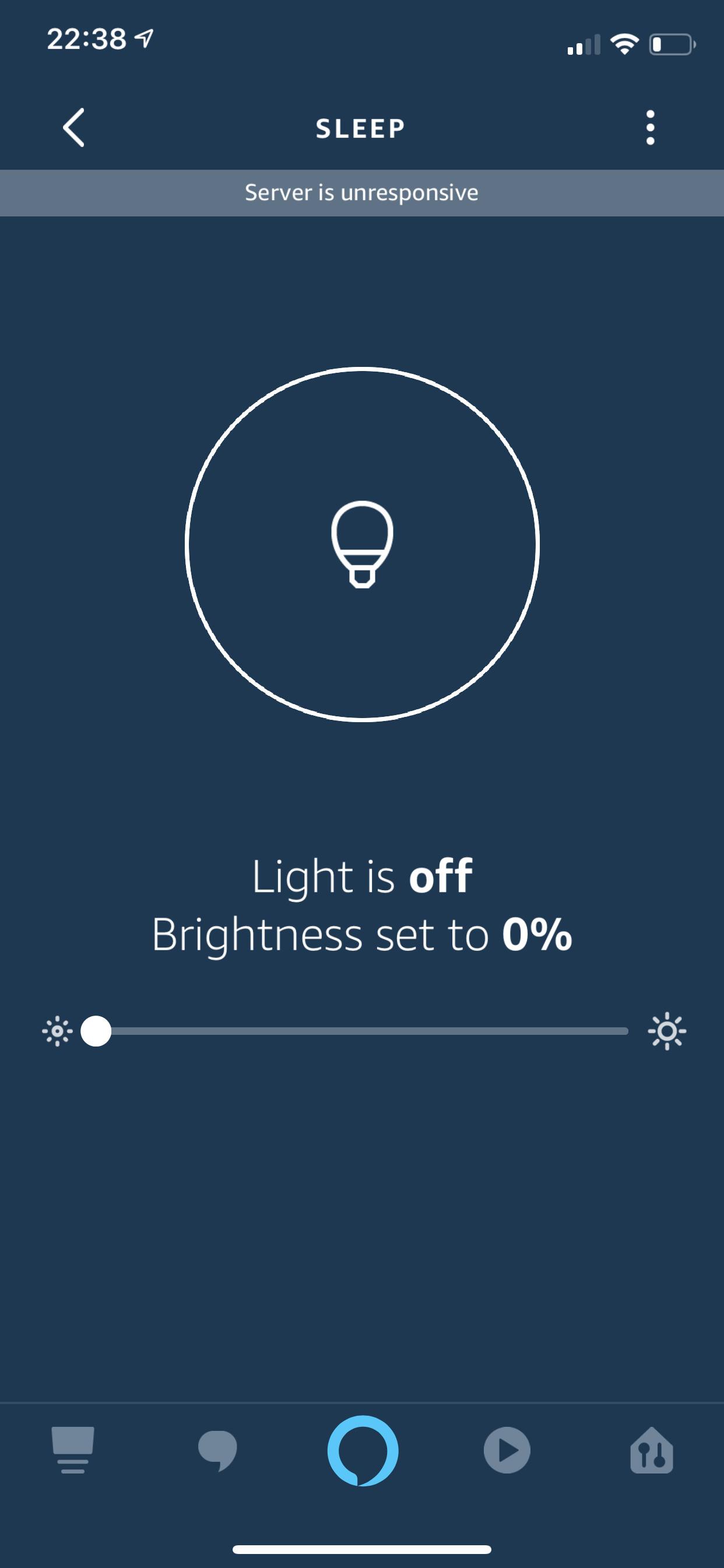 Alexa app : server not responding - Support - Hubitat