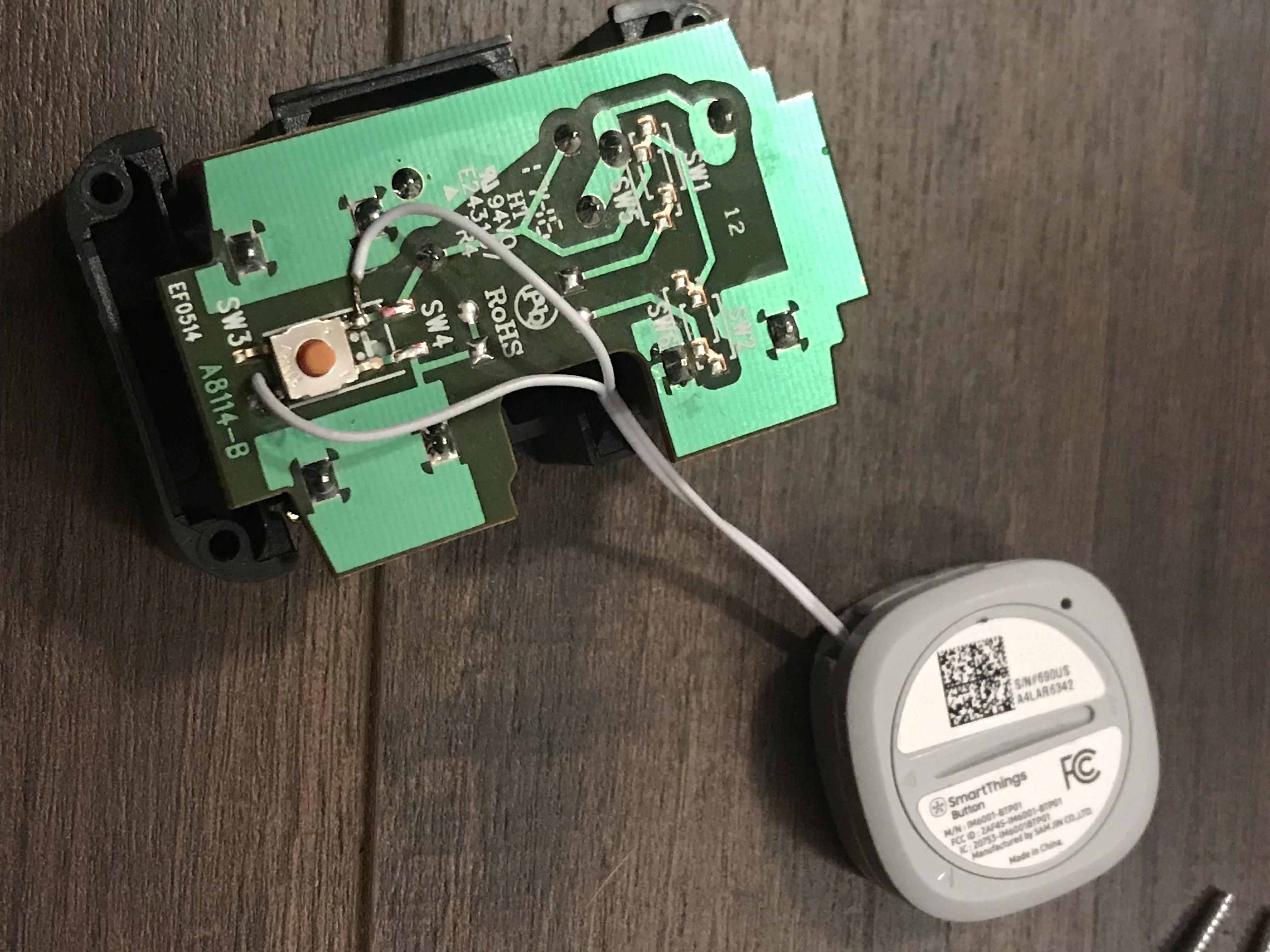 Smartthings Button Teardown (and more!) - Lounge - Hubitat