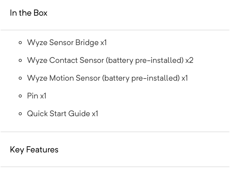 New Wyze Door contacts and Motion Sensors - Lounge - Hubitat
