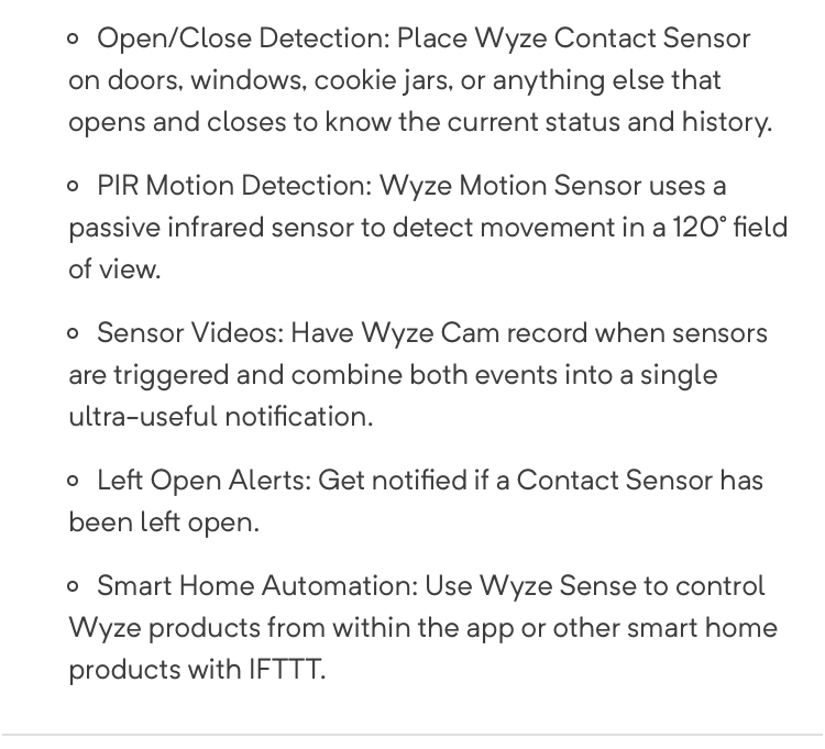 New Wyze Door contacts and Motion Sensors - Lounge - Hubitat