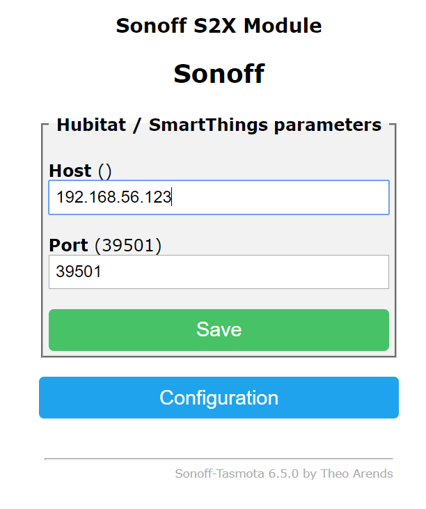 Release] Tasmota Sonoff Hubitat Driver & Device Support - Code Share