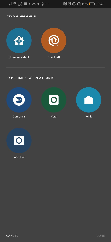Homehabit - New dashboard app for Android - Lounge - Hubitat
