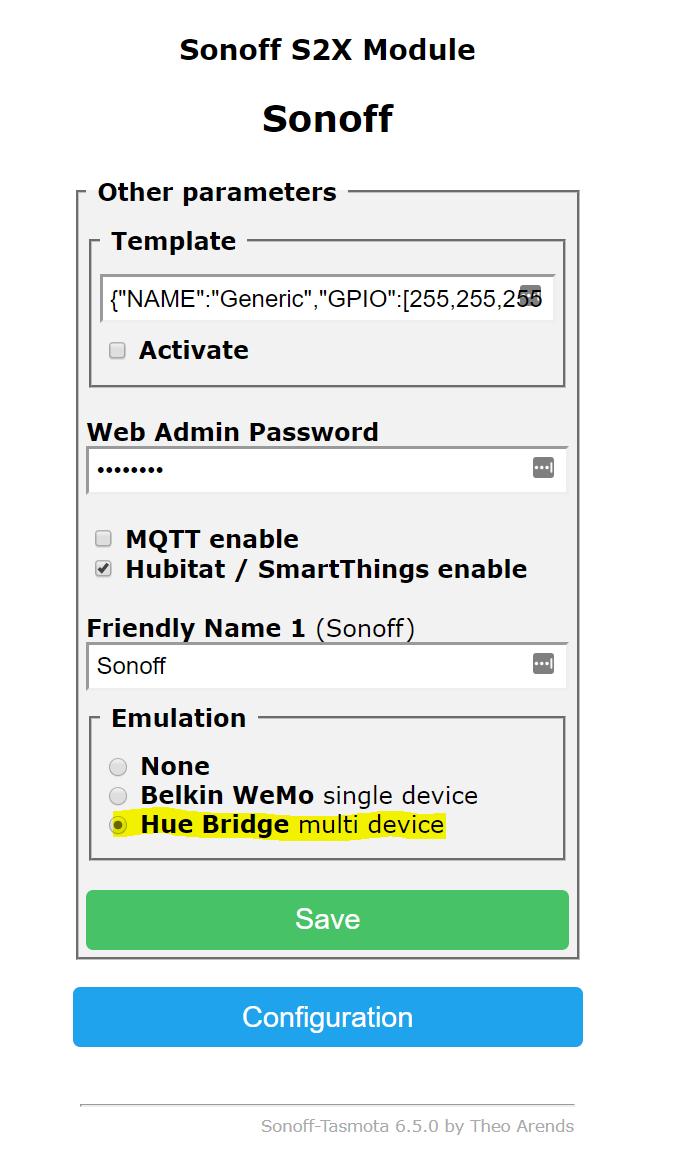 Release] Tasmota Sonoff Hubitat Driver & Device Support - Code Share