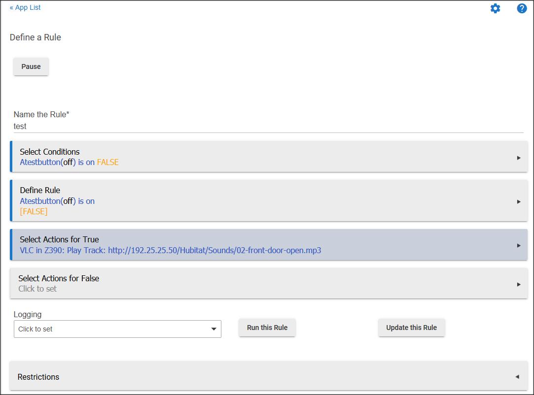 Again with VLC Thing and Hubitat - Integrations - Hubitat