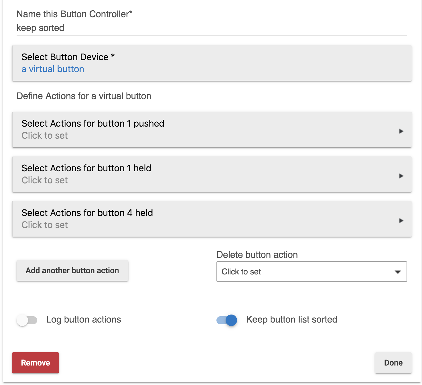 Released] Button Controller 3 0 - Automations - Hubitat