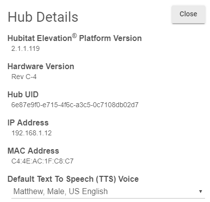Google home mac address