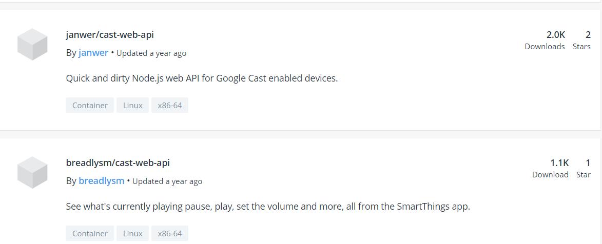 Chromecast integration, Thanks HE Team! - Lounge - Hubitat