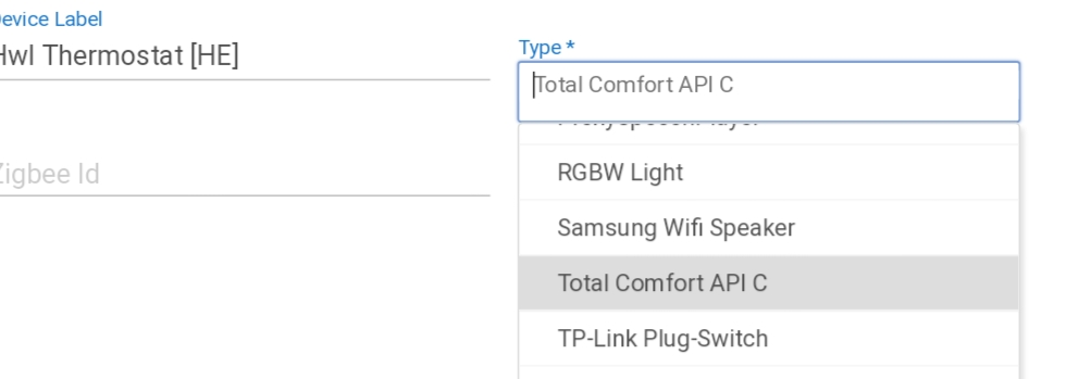 Honeywell Total Connect - Devices - Hubitat