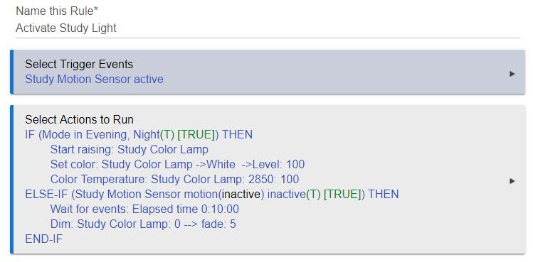 Samsung Motion Sensor Sensitivity - Get Started - Hubitat